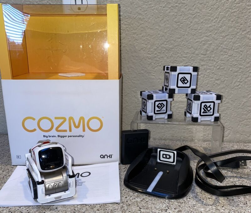 Anki 000-00057 Cozmo Robot Toy - Red & White