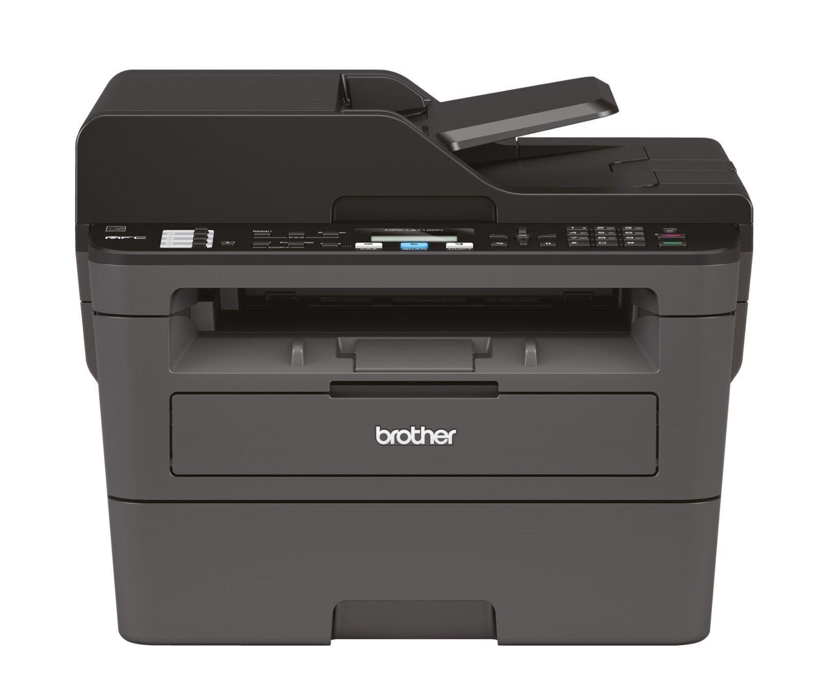 Brother MFC-L2710DN Laser-Multifunktionsdrucker s/w A4 4in1 Fax Duplex Netzwerk