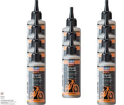 11x LIQUI MOLY Bicicleta Aceite para Cadena Seco Lubricante Eléctrica 100 ML