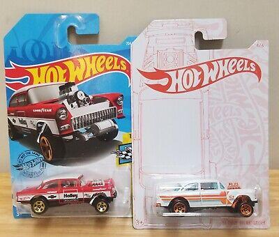 2020 Hot Wheels 52 Anniversary 55 Chevy Bel Air 55 Belair Holley Gasser