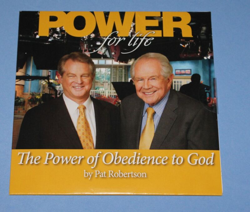 Pat Robertson - Power of Obedience to God CD