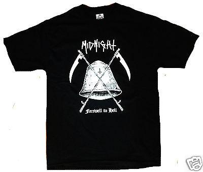 Midnight Shirt Inepsy Boulder Toxic Holocaust Black Metal Venom Doom Patch Cd Lp