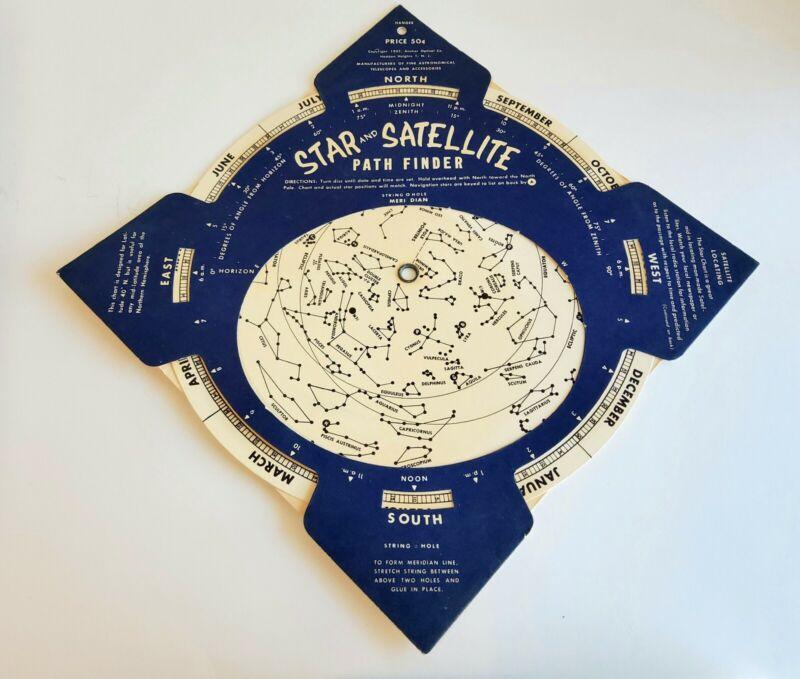 VINTAGE STAR & SATELLITE PATH FINDER 1961-63 Anchor Optical
