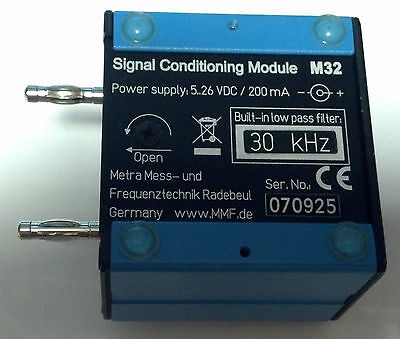 Mmf Iepe Signal Conditioning Module M32 Working