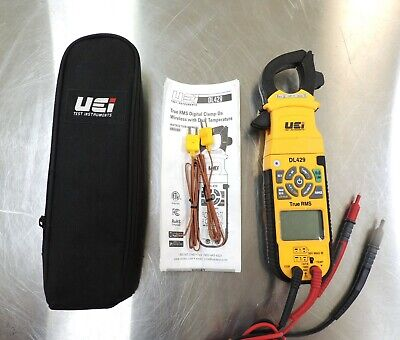 Uei Dl429 True Rms Clamp Meter