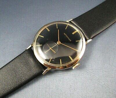 Vintage Longines Wittnauer 10K Gold GF Mens Watch 76/3g Revue 17J 1950s