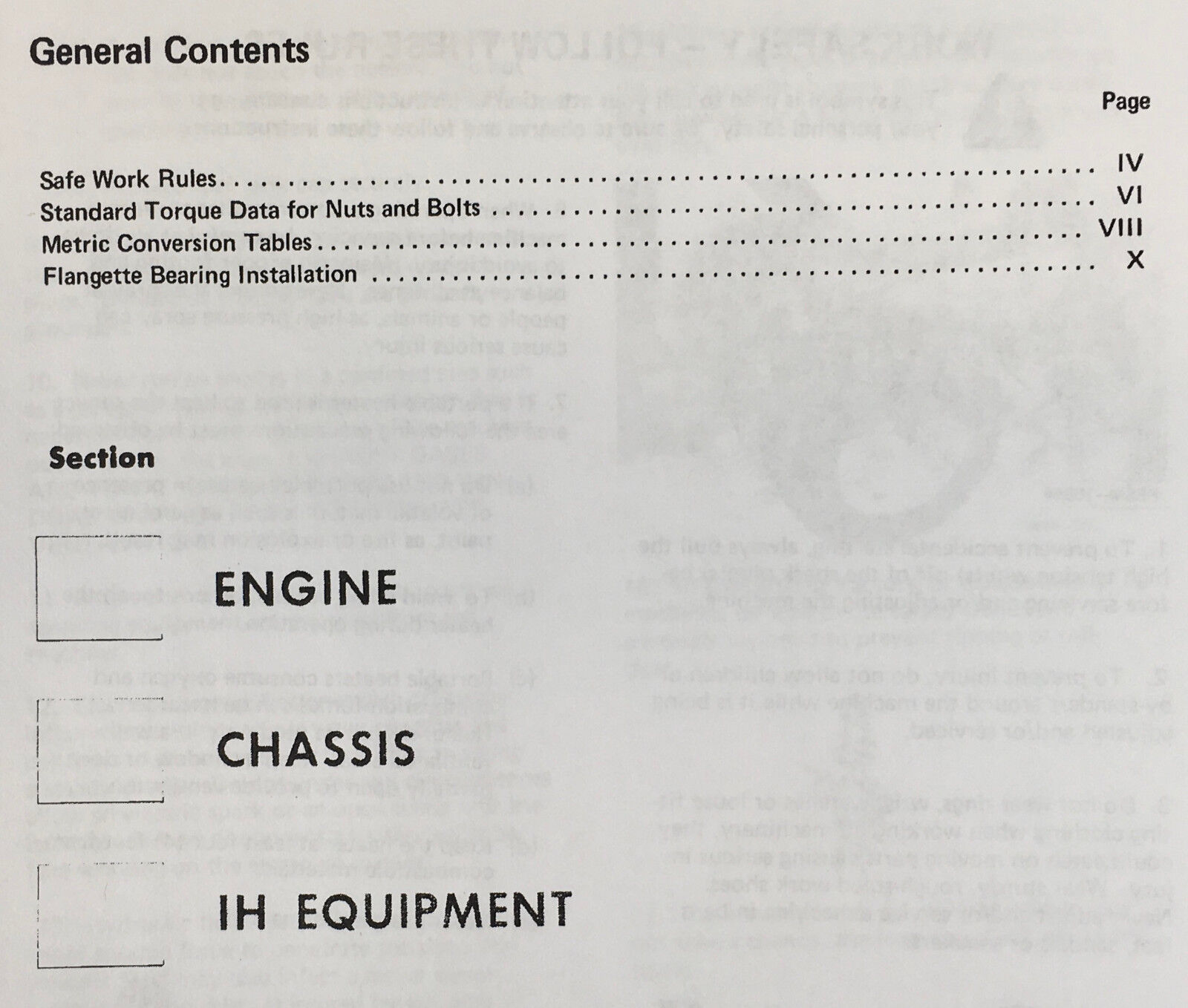 INTERNATIONAL CUB CADET 582 SPECIAL 682 782 982 TRACTOR
