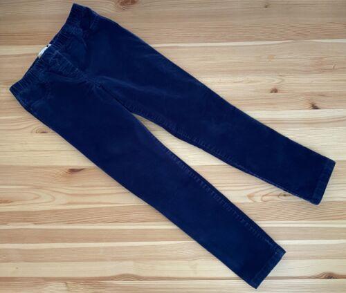 MINI BODEN Navy Blue Corduroy Leggings Pants Size 9Y EUC