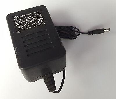 GENUINE LEI LEADER ELECTRONICS 48090100-B2 POWER SUPPLY ADAPTER 9V 1.0A UK PLUG