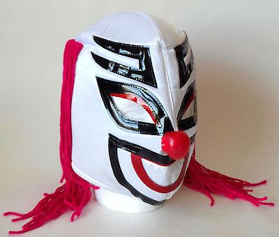Mexican Lucha Libre Wrestling Mask Cocos Clown Mascara De Luchado Adult Size - Mascara Mask