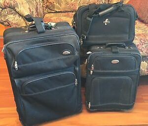 Suitcases & Carryon luggage