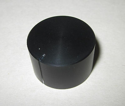 """Solid Aluminum Control Knob, Black, 1""""x5/8"""" (25.6 x 16mm) Hi-Fi Volume Tone Test"""