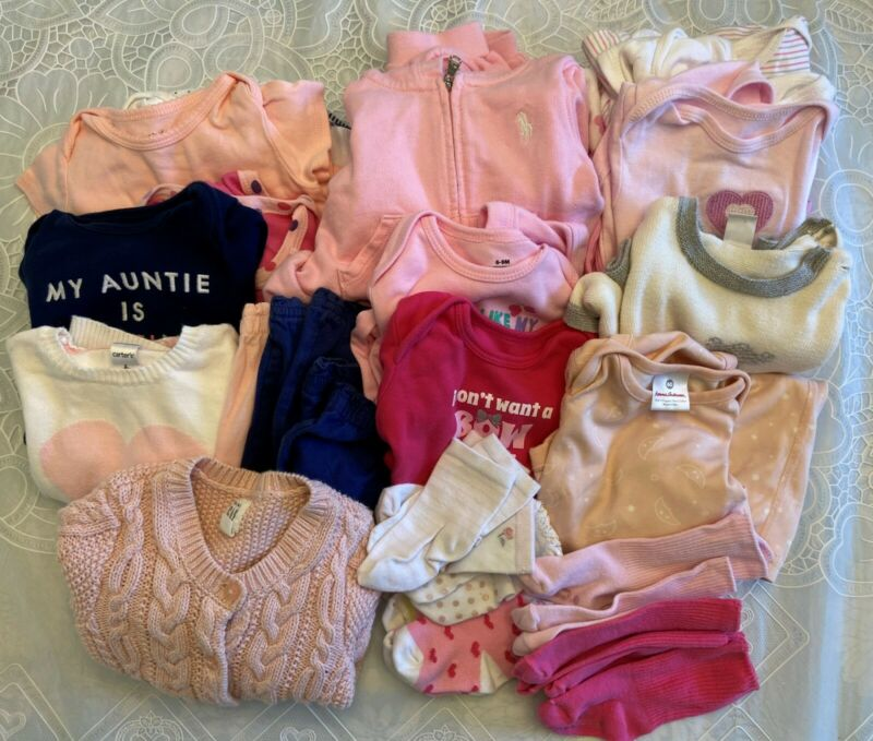 Baby Girl clothes, 6-12 month sizes (Pre-Owned)