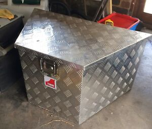 Aluminium Trailer Draw Bar Tool Box Trailers Gumtree Australia