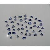 Tanzanite natural gem mix loose faceted parcel lot over 5 carats