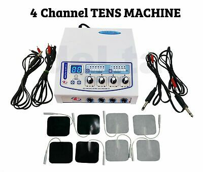 Professionalhome Use 4 Channel Electrotherapy Physiotherapy Multi Therapy Unit