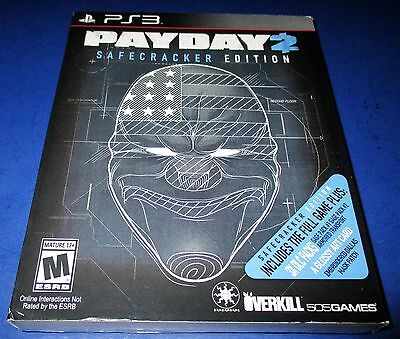 Payday 2    Safecracker Edition Sony Playstation 3  Factory Sealed   Free Ship
