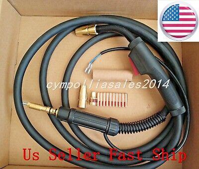 Us Seller Mig Welding Gun Torch 10 150a Hobart Handler 135140175180187