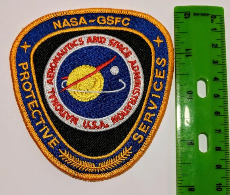 USA NASA GSFC National Aeronautics & Space Admini. Protective Service patch