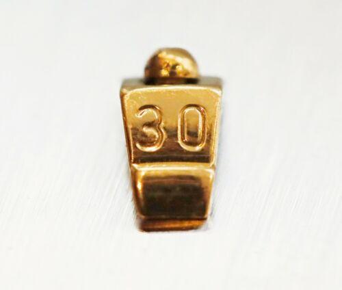 Breitling 18K Gold Chronomat B13050 B13350 Bezel Rider Tab #30 +Screw
