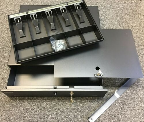 STEELMASTER 225106001 Cash Drawer w/ Locking Removable Tray & More!