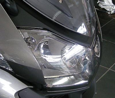 BMW R1200RT 10-13 HEADLIGHT PROTECTORS LIGHT TINT - Powerbronze