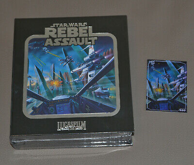 Star Wars: Rebel Assault - Premium Edition - Sega CD - Limited...