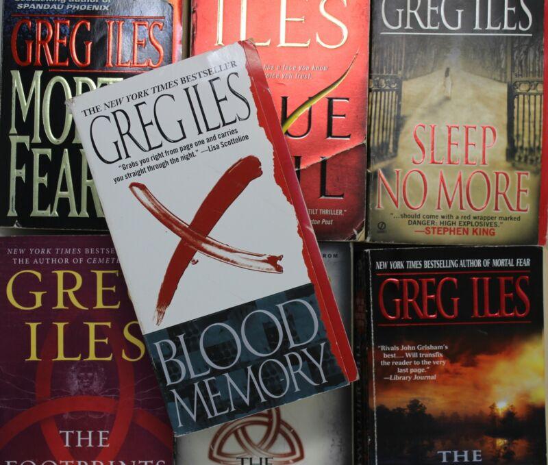 Lot of 5 Greg Iles Mass Market Paperback Books MIX