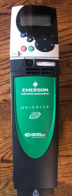 EMERSON INDUSTRIAL AUTOMATION UNIDRIVE SP CONTROL TECHNIQUES SP1404