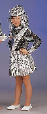 Space Commander (Space Commander Mädchen 128 140 1-tlg Kleid OHNE Stirnband Fantasy All 121114913)