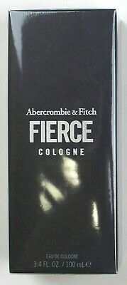 ABERCROMBIE & FITCH FIERCE 3.4 FL oz / 100 ML Cologne Spray In Sealed Box