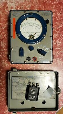 Vintage Bruno-new York Industries Corporation Military Multimeter