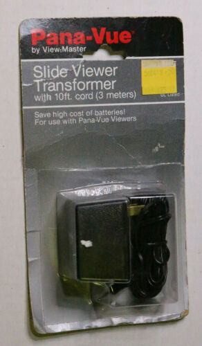 New SEALED Pkg OEM Pana-Vue AC Transformer Adapter 4 Pana Vue 35mm Slide Viewers