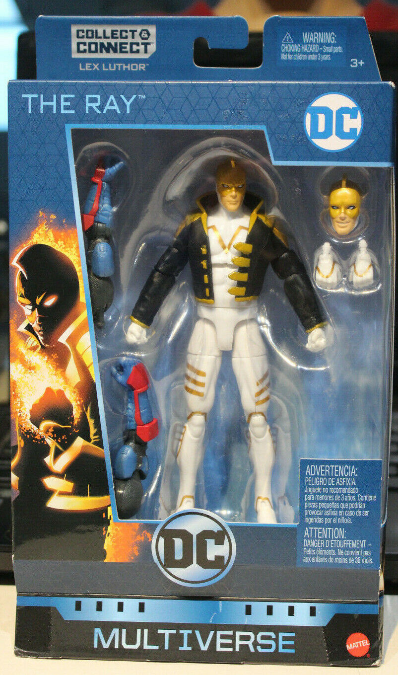 """2018 Mattel DC Multiverse The Ray 6"""" Action Figure With Lex"""