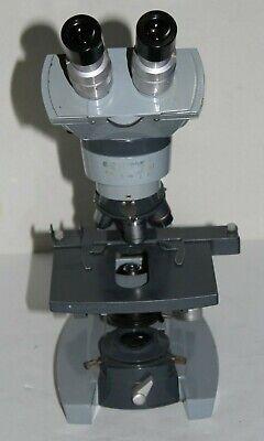Ao Spencer Microscope 1036a W 4 Objectives 41043100 Free Shipping