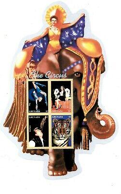Grenada - 2003 - Circus Clowns - Sheet Of 4 - MNH