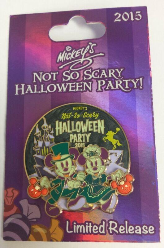 **New** Mickeys Not So Scary Halloween Party 2015 Mickey & Minnie Party Pin