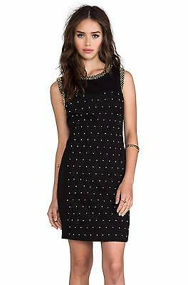 NWT~Juicy Couture~ Black Beaded Ponte Dress Sheath~6~$268 *SOLD OUT - Beads Online