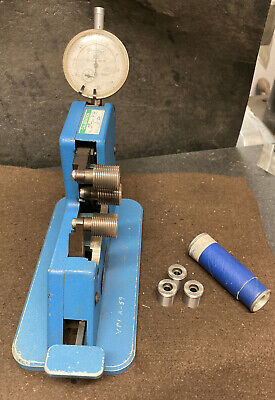 Fowler Dial Thread Comparator Gage 18p Machinist Tool Maker Inspection Indicator