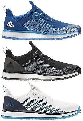 adidas Mens Forgefiber BOA Spikeless Boost Golf Shoes 3 Colours available