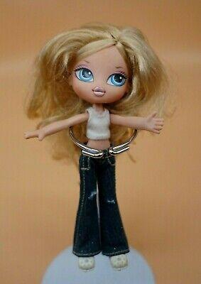 """Bratz 7"""" Kidz Cloe Doll Blue Eyes Outfit Clothes Jeans Top Shoes"""