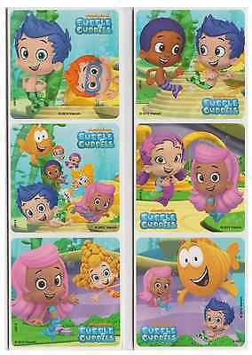 25 Assorted Bubble Guppies Stickers, 2.5