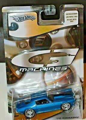 Hot Wheels G-Machines Blue '70 Camaro 1/50 NIP