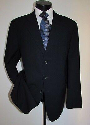 dunhill Traveller 3 Button Dual Vents Men's Suit/Sports Jacket 46 L