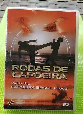 RODAS DE CAPOEIRA WITH the CAPOEIRA BRASIL GROUP ~ DVD