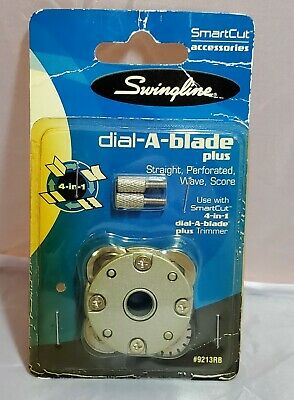 Paper Trimmer Replacement Blade Smartcut 4 In 1 Dial A Plus Rotary 9213rba