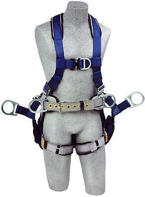 3m Dbi-sala Exofit 1108652 Tower Climbing Harness Frontbackside D-rings...