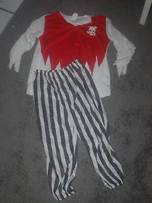 Kinderkostüm Pirat Gr. M (7-10 Jahre) Verkleiden  (Piraten Kostüm Kinder)