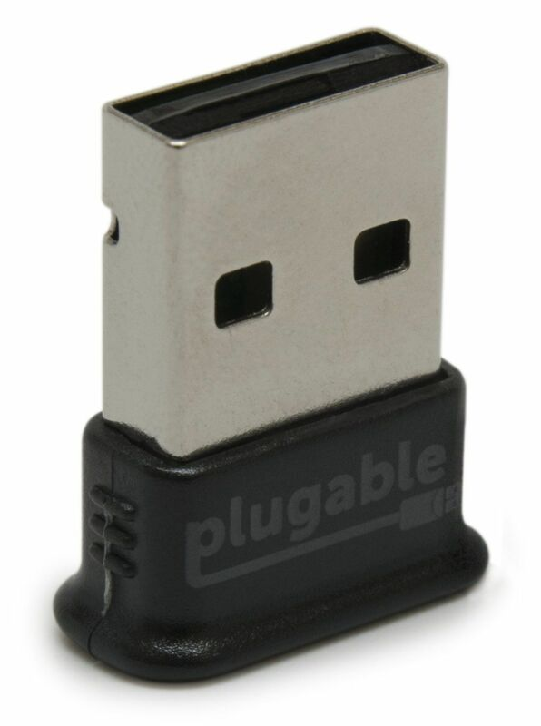 Plugable Usb Bluetooth 4.0 Low Energy Micro Adapter (Windows 10, 8.1, 8, 7, Raspberry Pi, Linux Compatible; Classic Bluetooth, & Stereo Headset Compatible) 5