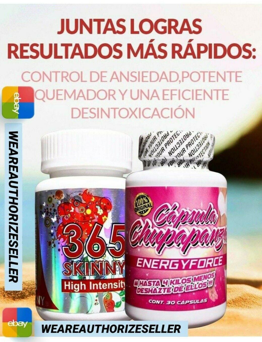 COMBO DE 365 SKINNY HIGH INTENSITY Y CHUPA PANZA ENERGYFORCE